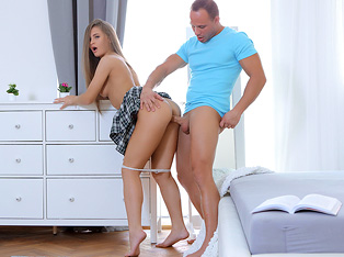 Lustful Step-brother Tricked His Sister into Sex